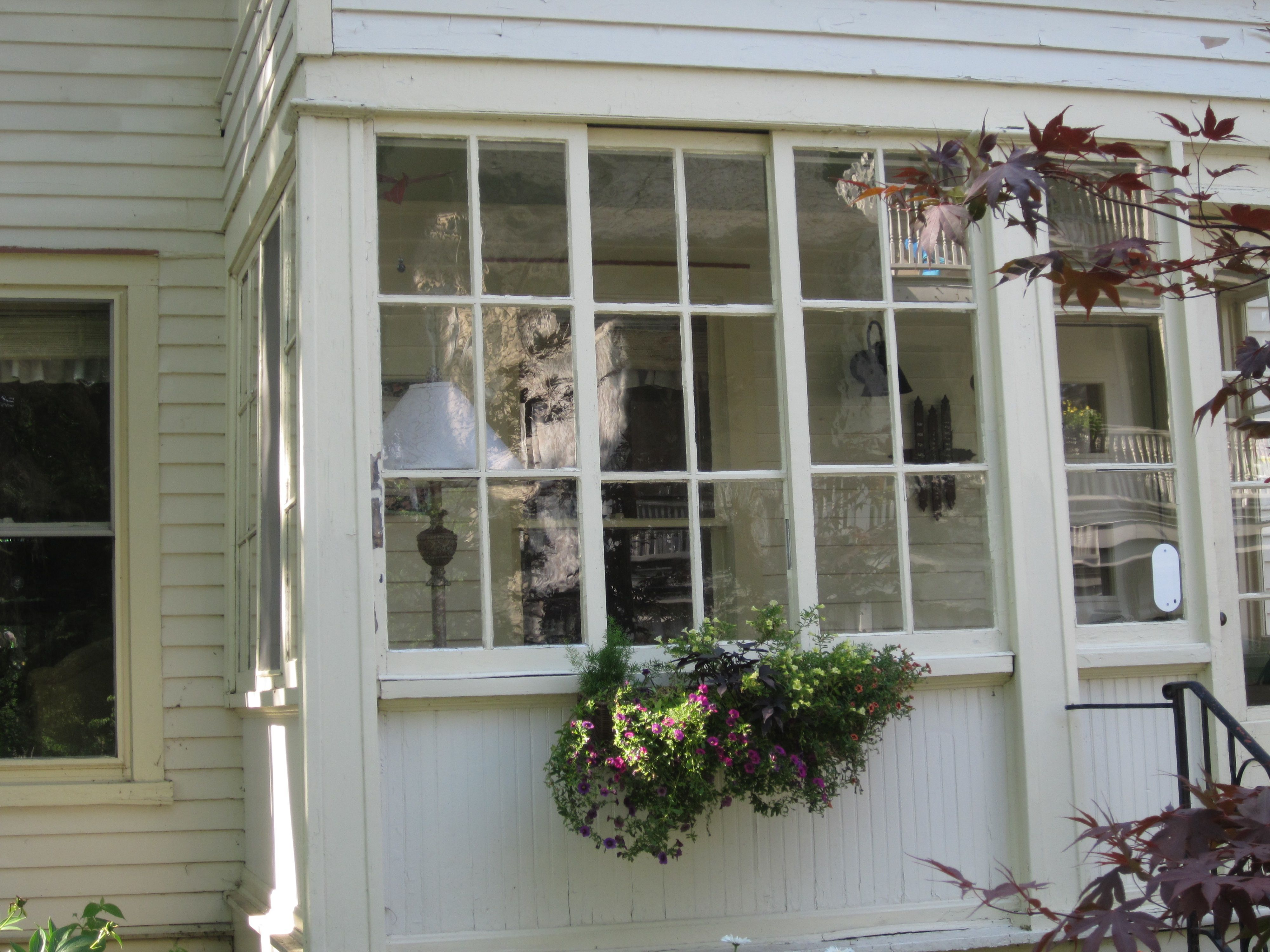 Gl Porch Windows From The Outside House With
