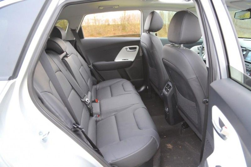Kia Niro Rear Seats Interior Pictures Kia 2017 Kia