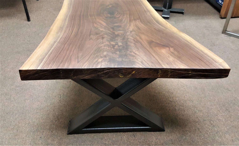 Modern Coffee Table X Legs Model Bx02 Side Dining Table Coffee Table Legs Metal Industrial Dining Table [ 915 x 1500 Pixel ]