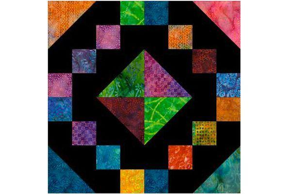 Jewel Box Quilt Block Pattern