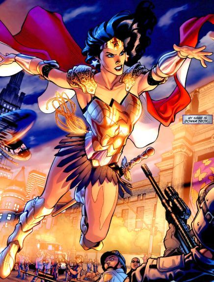 Wonder Woman (Donna Troy) | Daughter of Athena, Wonder Woman