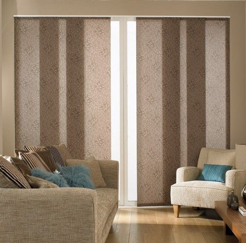 Sliding Panel Track Blackout Blinds | Panel Blinds From Dove Blinds. Patio  Door ...