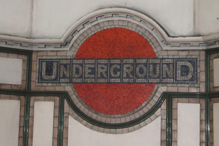 Londons Unusual Tube Roundels Londonist Londons Tube Roundel Is