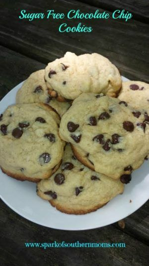 Spark of Southern Moms Sugar Free Chocolate Chip Cookies! Yummmy!
