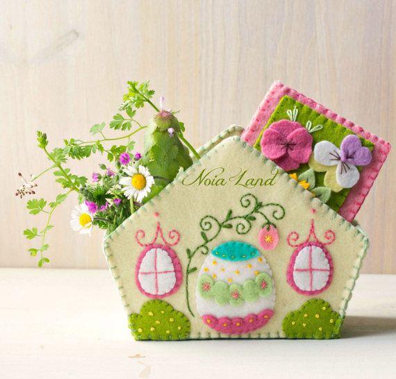 PDF Pattern. Easter house. por Noialand en Etsy   Noia Land ...