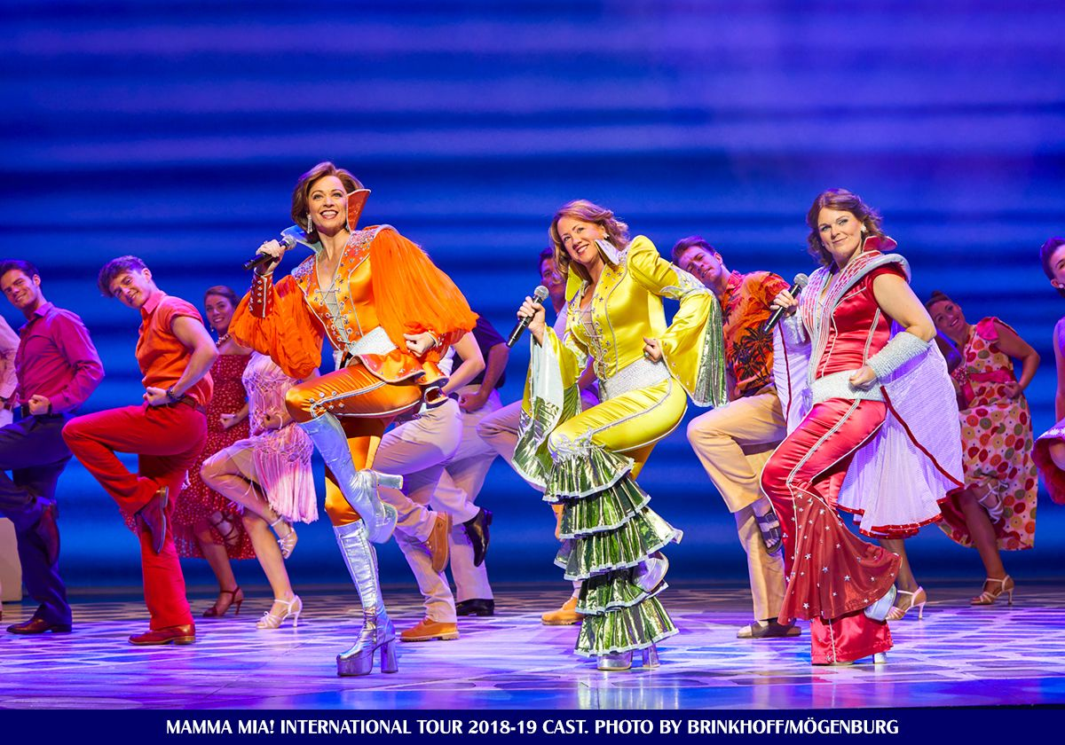 Mamma Mia International Tour 2018 2019 Cast For Info Tickets For All Mamma Mia International Tour Venues Check Out Our Web Mamma Mia Musical Movies Tours