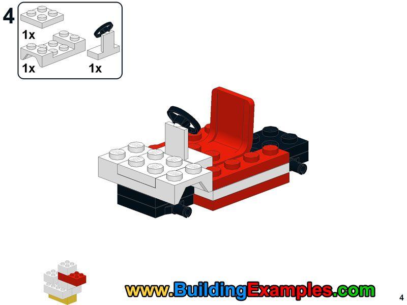 Lego Mini Moke 4 Lego Instructions Pinterest Legos And Lego