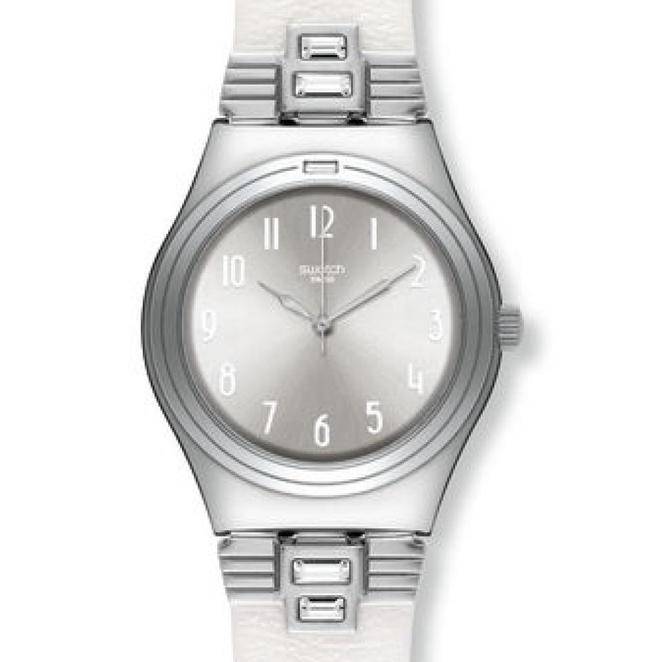 Swatch Bayan Saat Modelleri Bayan Saatleri Swatch Deri Kordonlu Saat