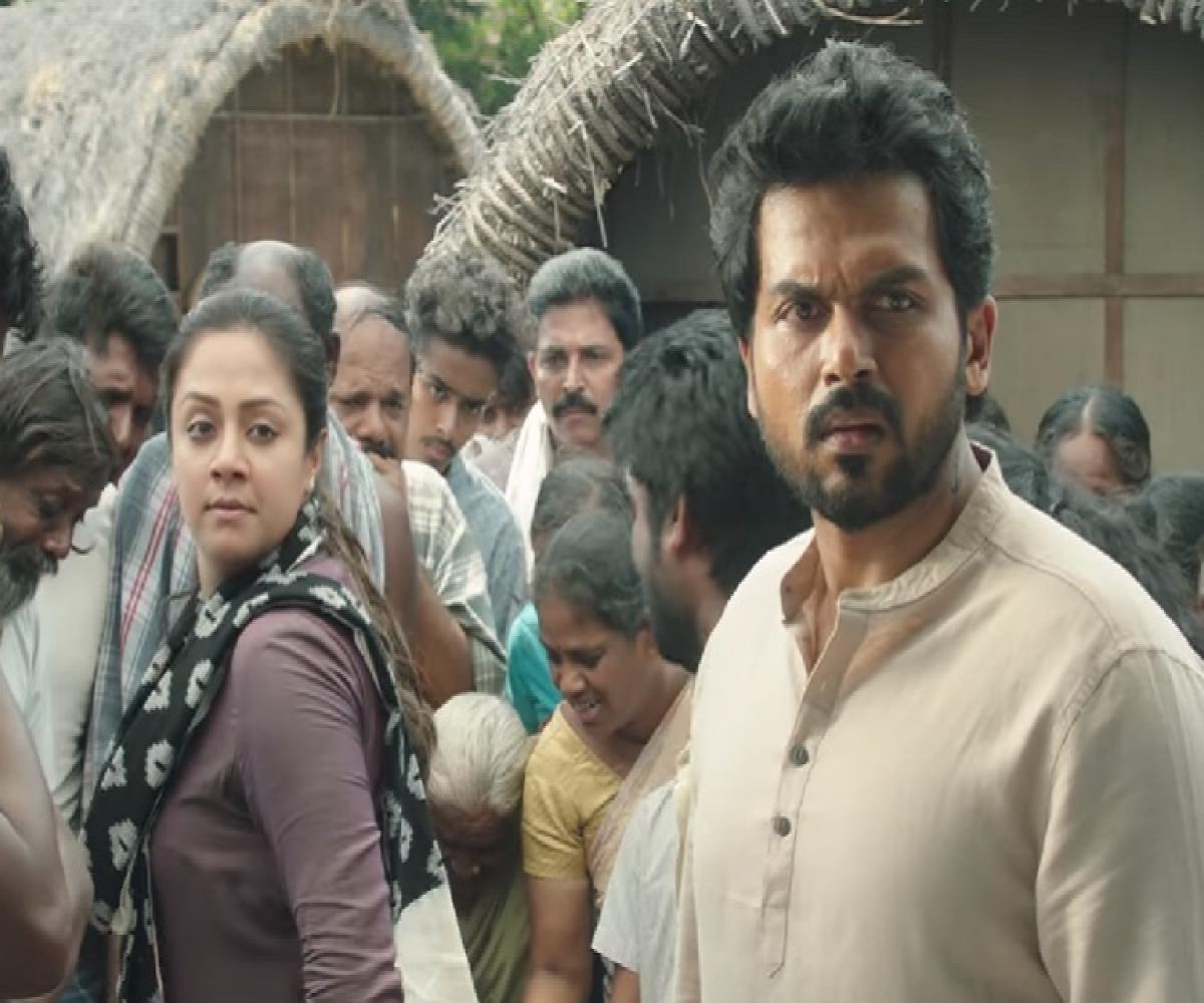 'Thambi' review: Jyothika-Karthi's slow family drama is ...