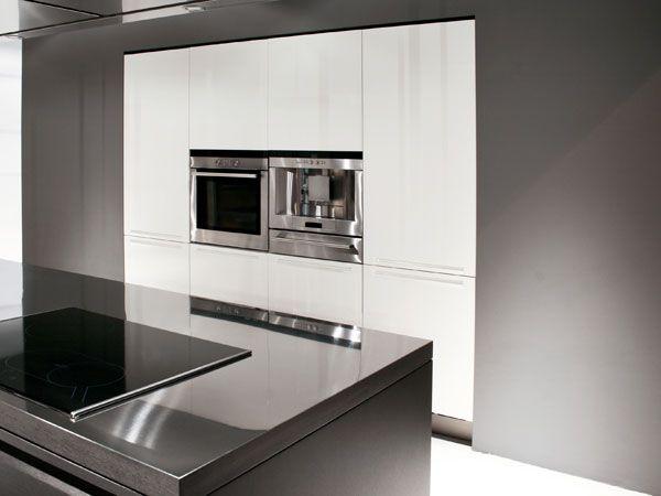 küche in wand integriert | living | pinterest | wände - Wand Küche