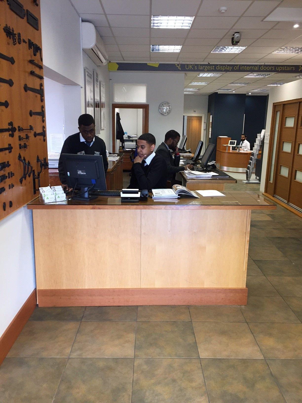 Todd Doors Showroom in Northolt. Come and speak to our excellent Door Experts. & Todd Doors Showroom in Northolt. Come and speak to our excellent ... Pezcame.Com