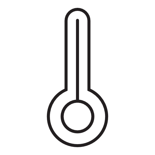 Temperature Thermometer Weather Icon Download On Iconfinder Weather Icons Thermometer Icon