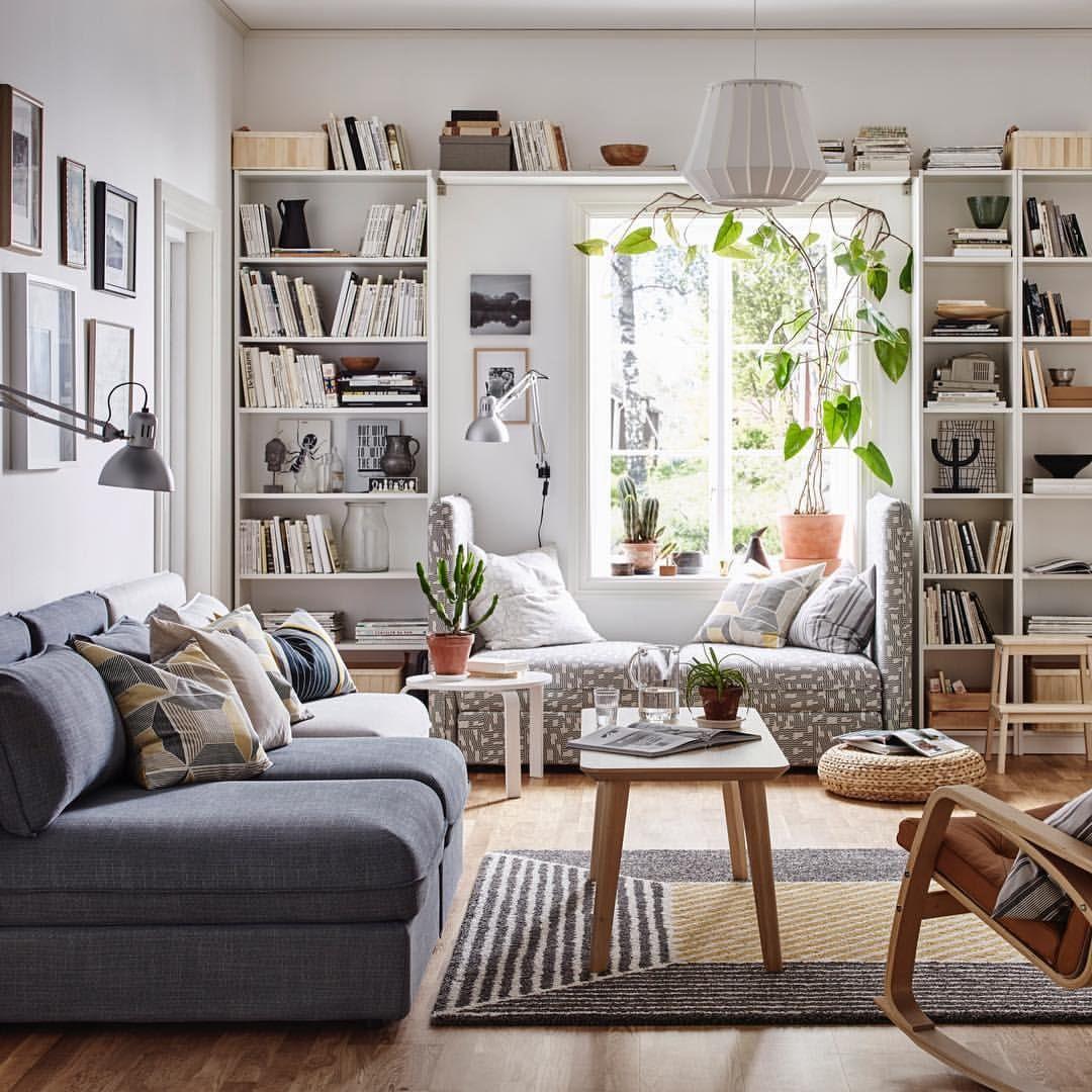 Bekijk Deze Instagram Foto Van Ikeanederland 804 Vind Ik Leuks Small Apartment Living Room Living Room Decor Apartment Small Apartment Living
