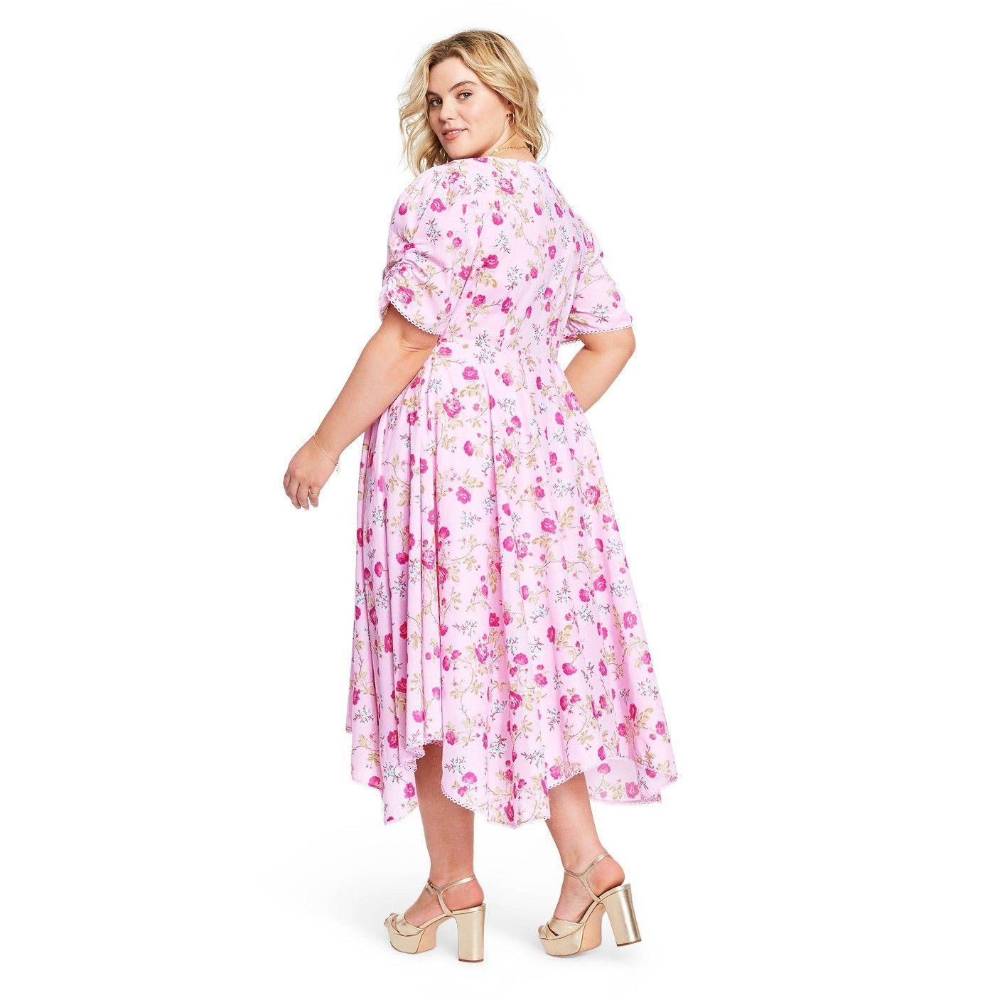 Women S Audrey Handkerchief Hem Dress Loveshackfancy For Target Regular Plus Light Pink Sponsored Hem Ad Dre Handkerchief Hem Dress Dresses Fashion [ 1400 x 1400 Pixel ]