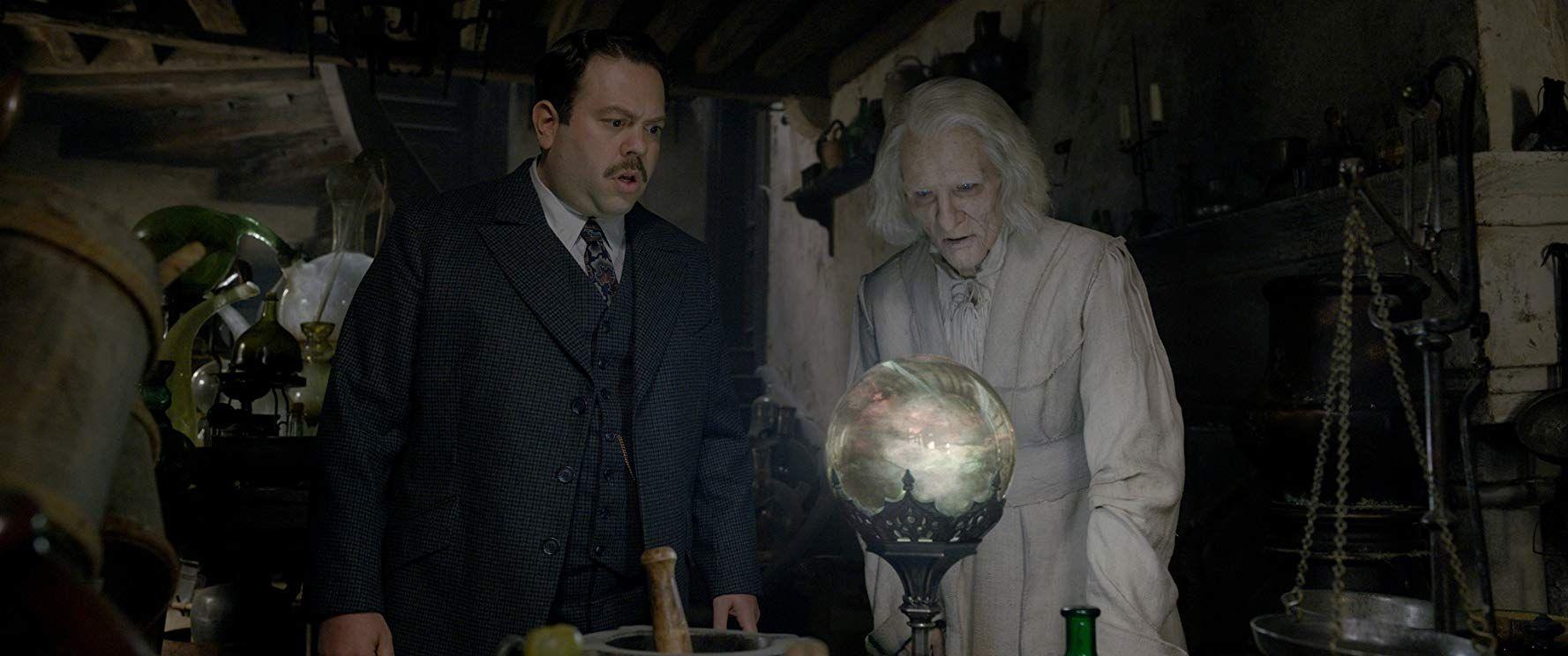 Dan Fogler And Brontis Jodorowsky In Fantastic Beasts The Crimes