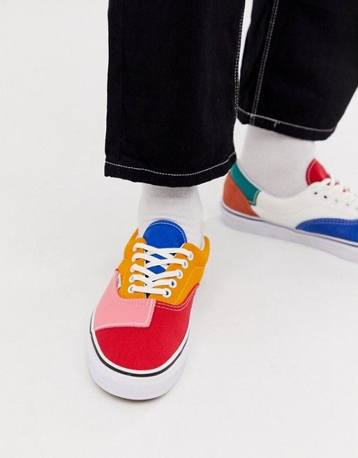 Vans Era color block sneakers in multi
