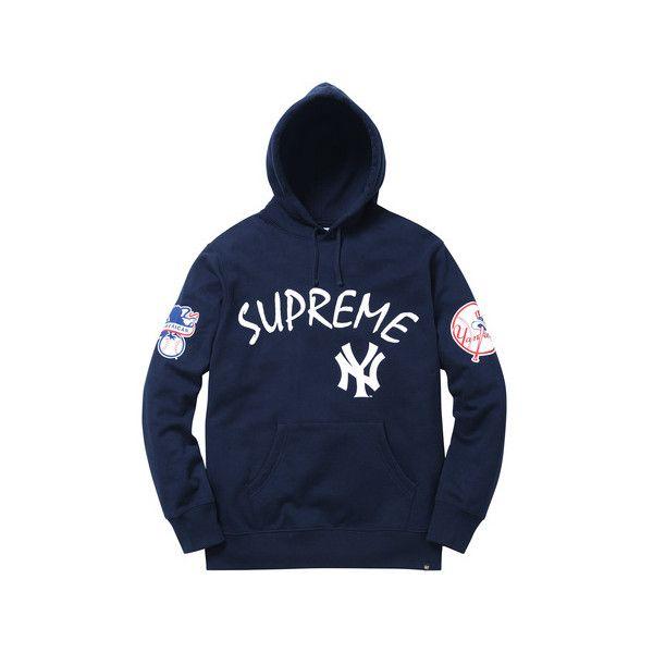 the latest a30e3 b5b60 Supreme New York Yankees /Supreme/'47 Brand Hooded ...