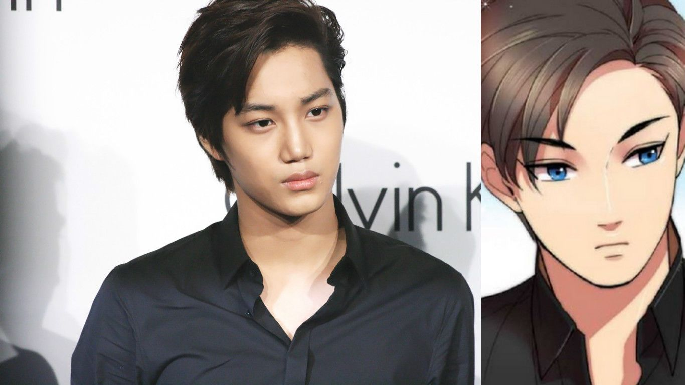 15 K Pop Stars That Are Basically Anime Characters In Real Life Beauty Formulas Black Hair Kpop Anime Guys Shirtless