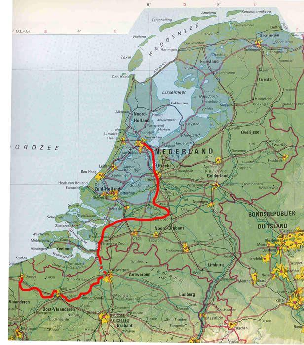 Holland Belgium Bike Tour  Amsterdam Antwerp Bruges  Belgium