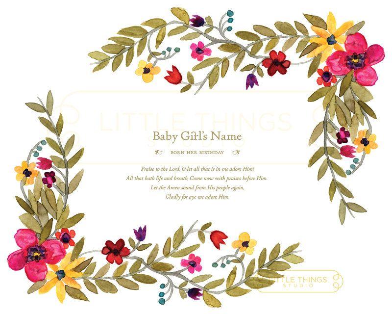 $30 Sweet Baby Shower Gift for Girl