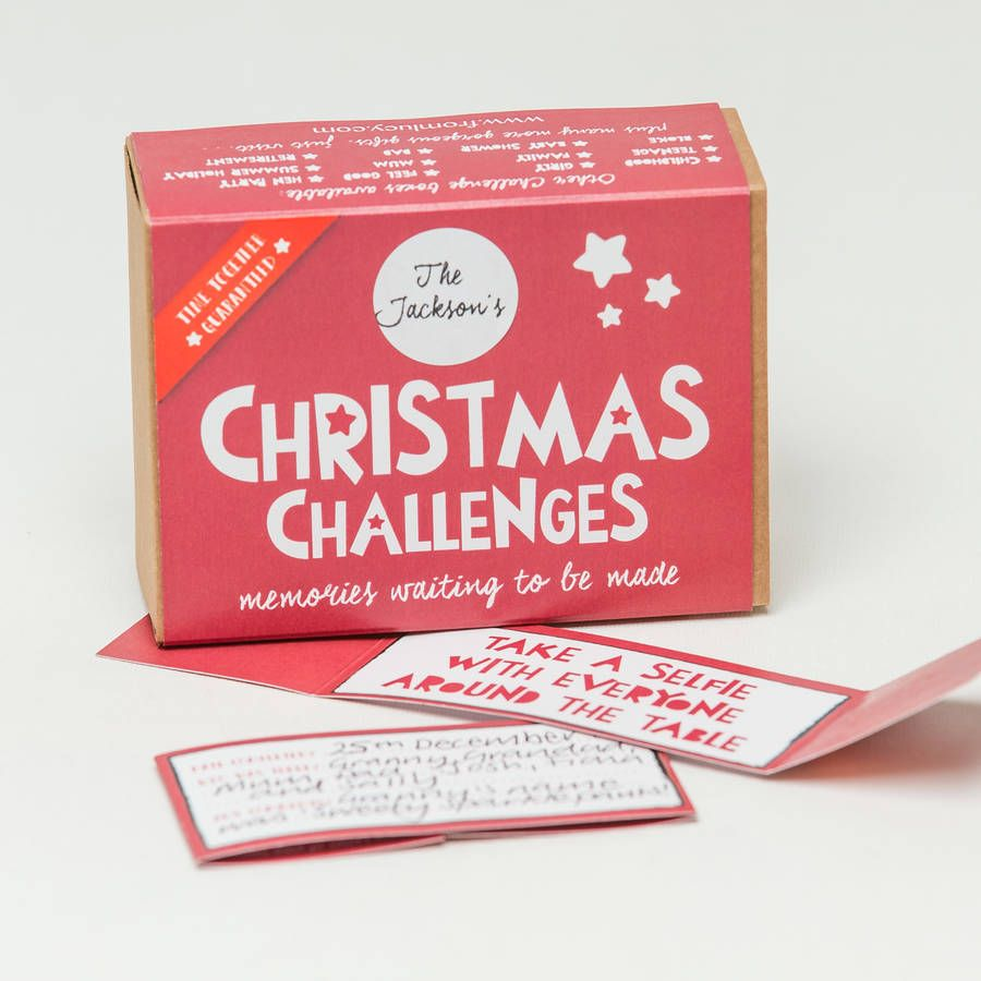 Christmas 'Challenges In A Box'