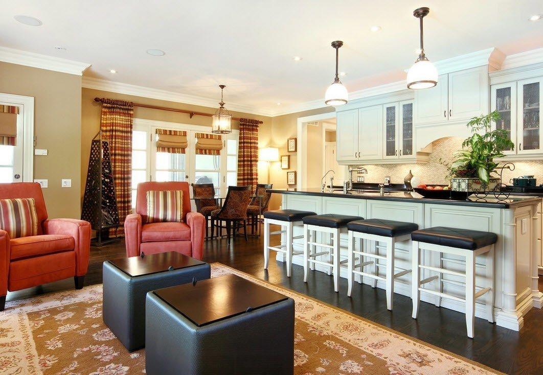 Kitchen Living Room Combo Paint Ideas Check more at https ...