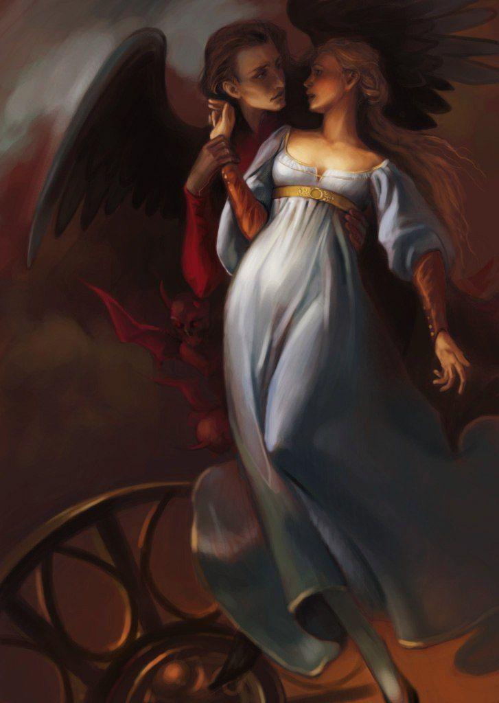 Картинки любви ангелов и демонов