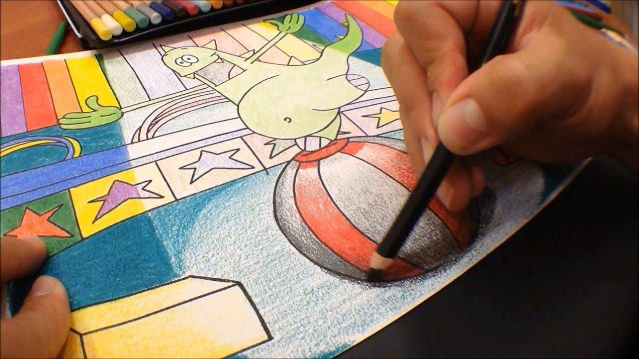 Técnica De Dibujo Y Coloreado Volumen Luz Y Sombra Tecnicas De Coloreado Luz Y Sombra Como Pintar Dibujos