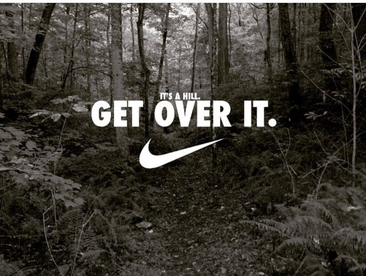 NIKE、Get over it