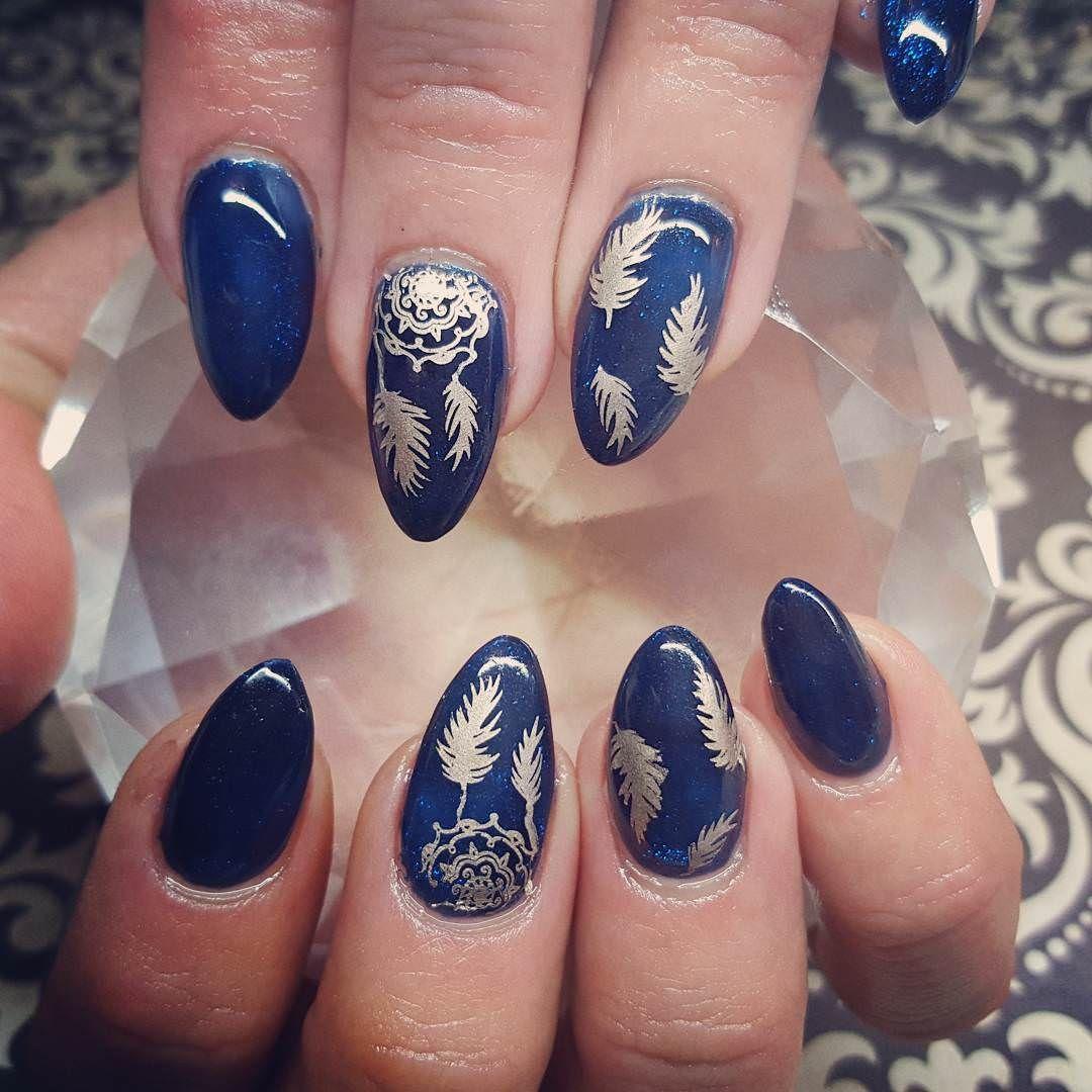 Afbeeldingsresultaat voor blue nail designs | Nailss | Pinterest