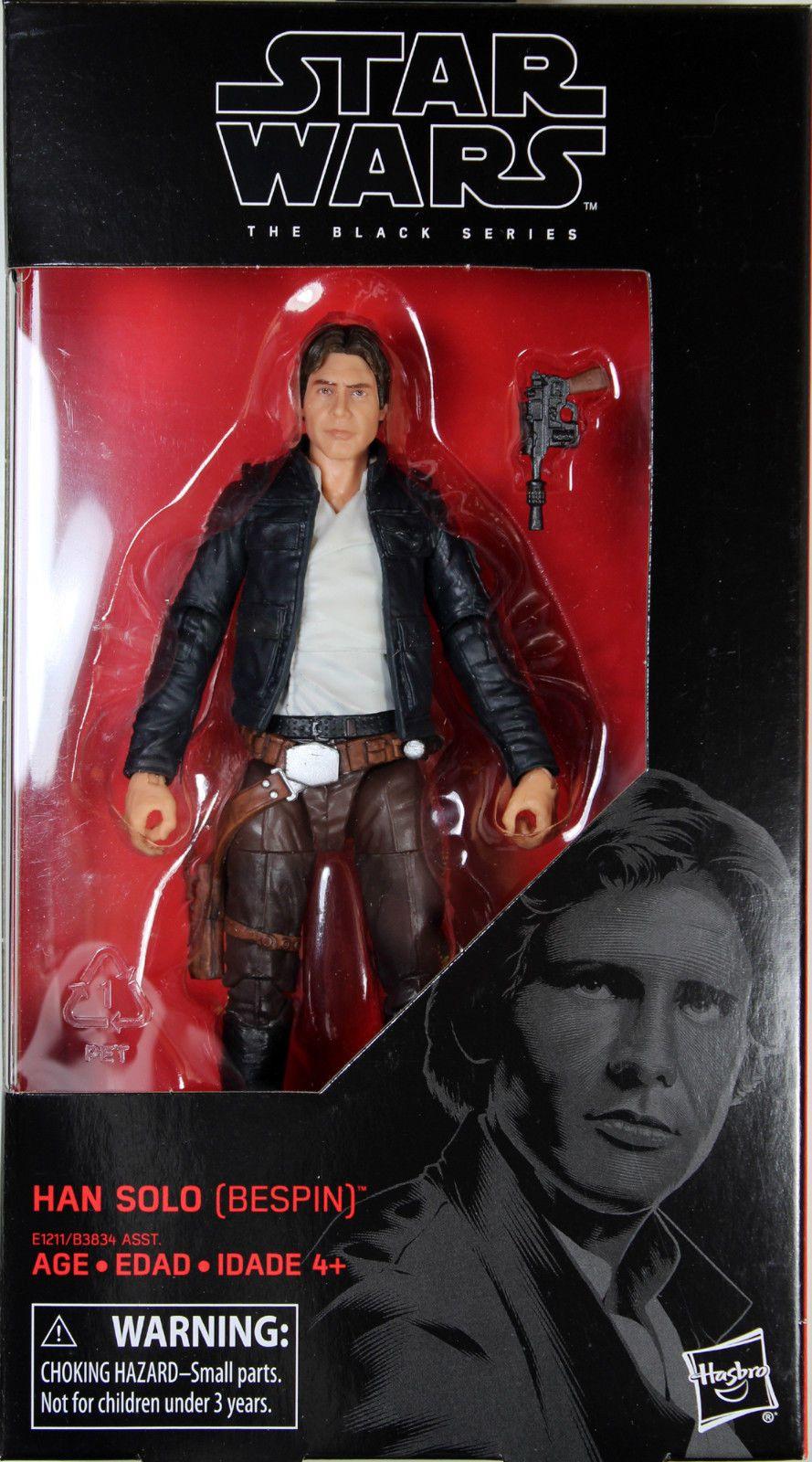 "Star Wars Black Series 6/"" Inch Action Figure Assortment Force Awakens TFA Hasbro"