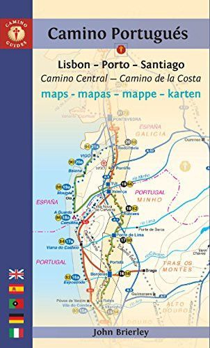 Camino Portugues Maps Mapas Mappe Karten Lisboa Porto