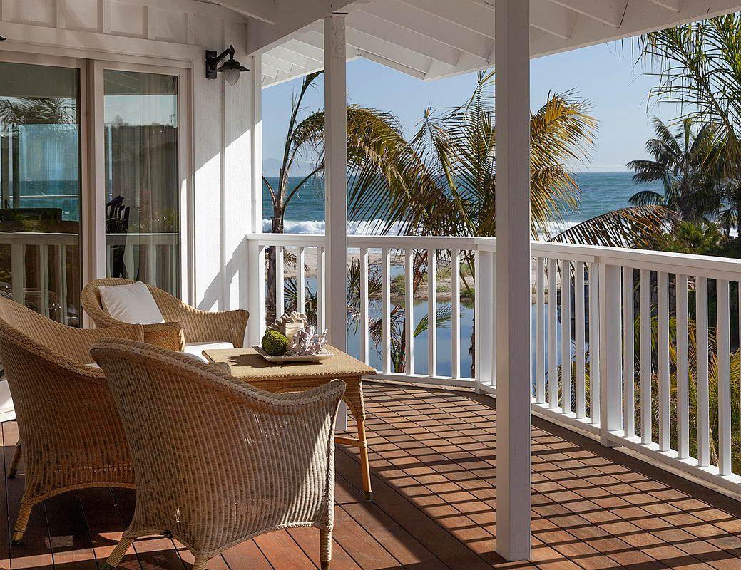 Beach porch...   Beach house ideas   Pinterest on Beach House Patio Ideas id=53089