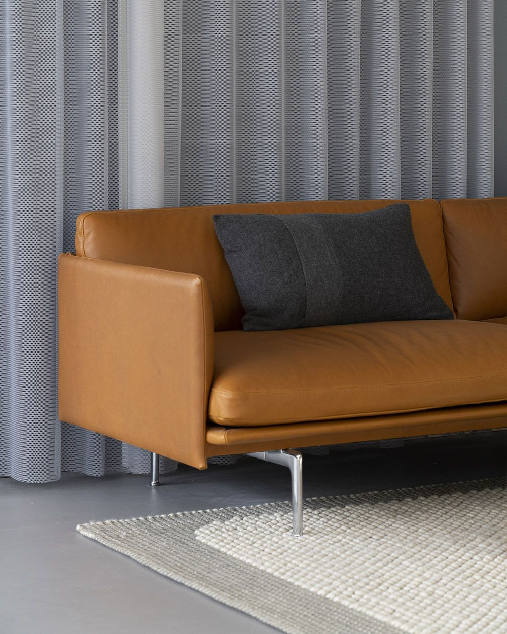 Minimal And Timeless Scandinavian Leather Sofa For Living Room Decor Inspiration From Scandinavian Sofa Design Leather Sofa Decor Living Room Decor Inspiration