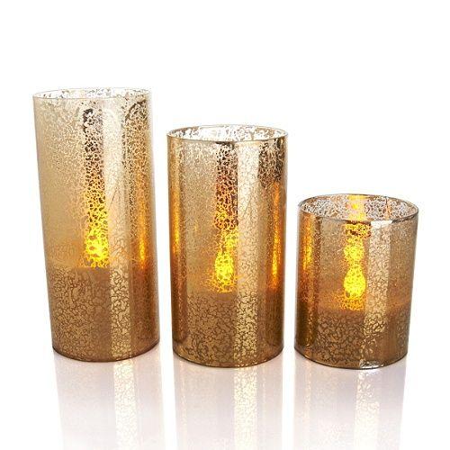 velas doradas