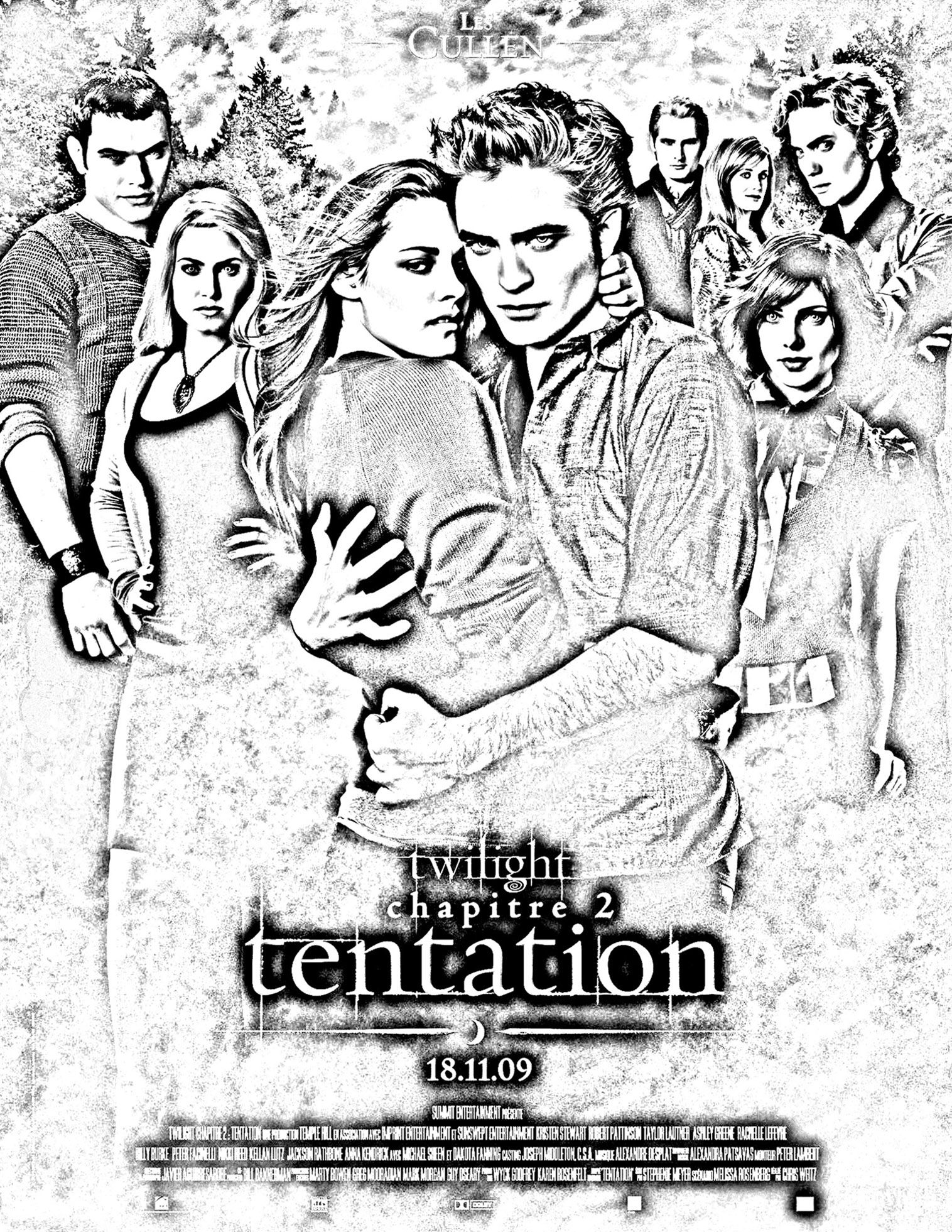 free coloring page coloring movie twilight the last episode of the twilight saga - Twilight Coloring Pages Print