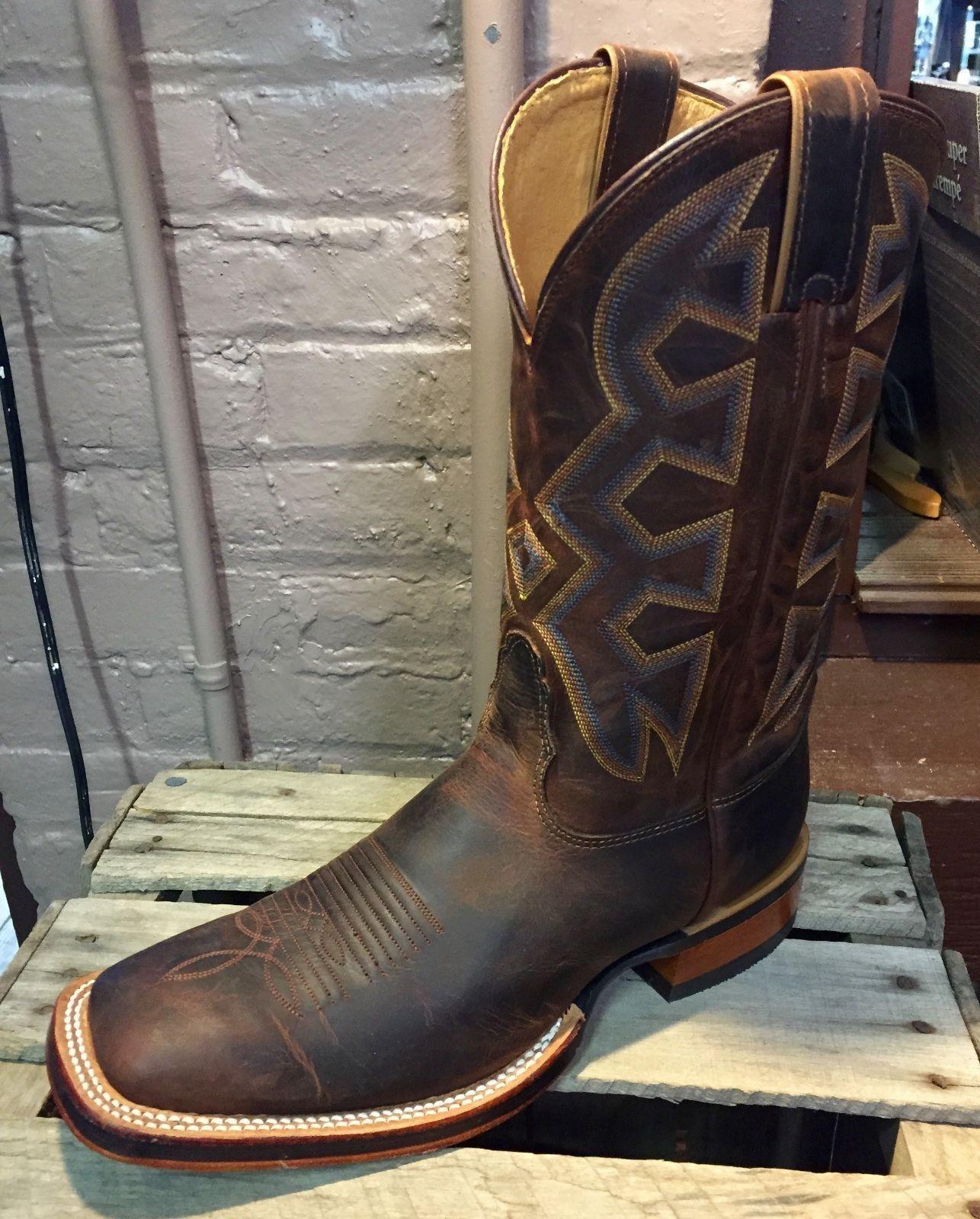 be9036a8014 Men's Nocona Men's Cognac Zulu Let's Rodeo® Cowboy Boot Md5302 ...