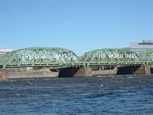 """""""Trenton makes the world takes"""" - Trenton, NJ - Moving to New Jersey from Germany in 1968, this was a familiar sight"""
