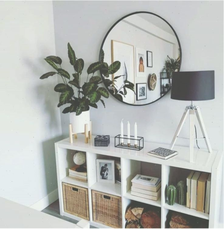 Round Mirror Living Room Decor Modern Home Decor Indoor Plants Decor Modernliv Decor In 2020 Living Room Decor Modern Living Room Mirrors Country House Decor