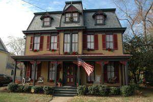 Elegant Victorian Painted Ladies Color Schemes | Victorian House Color Schemes  Choosing Authentic Exterior Paint Colors .