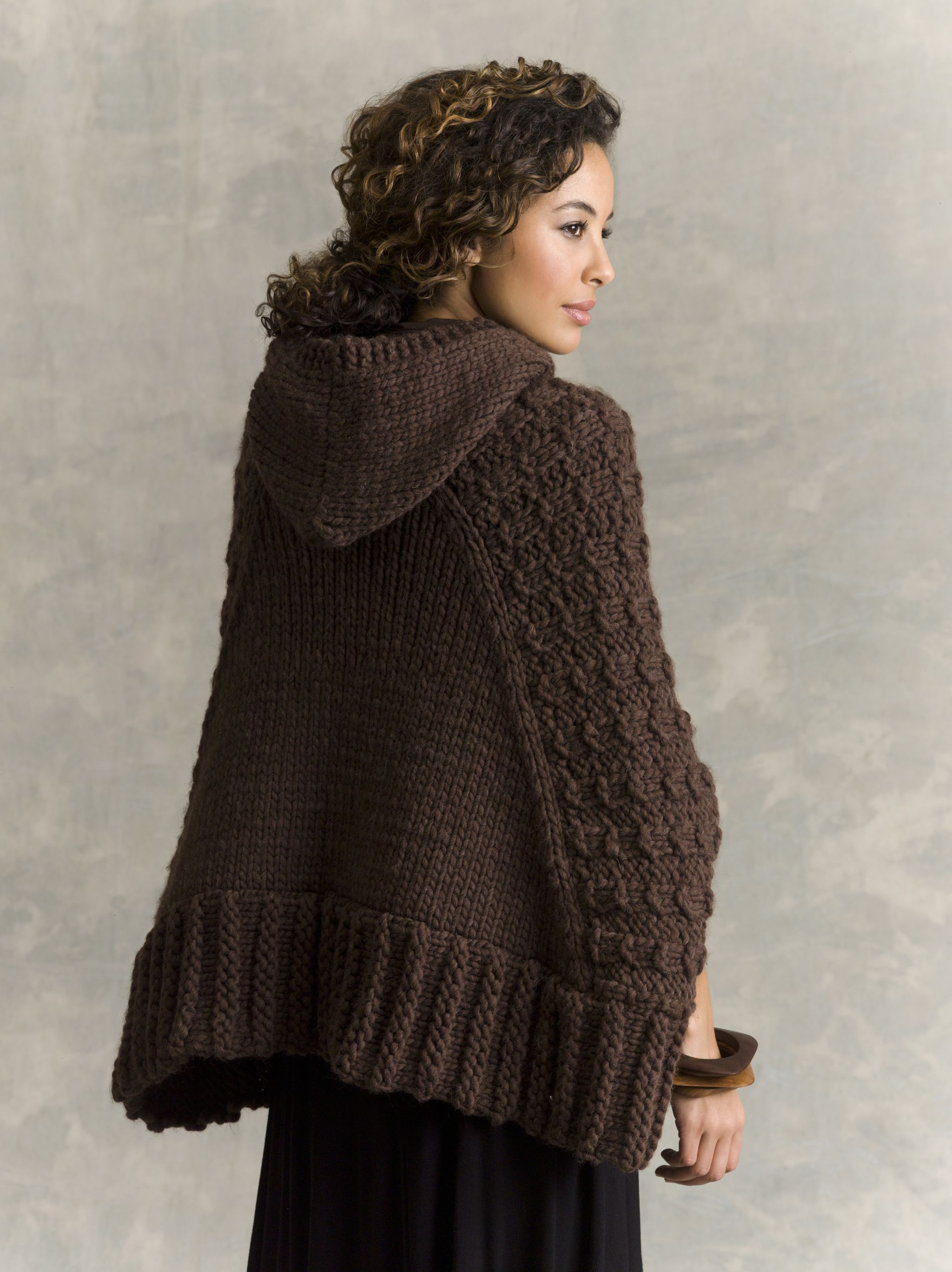 Dorable Knit Hooded Cape Pattern Collection - Sewing Pattern for ...
