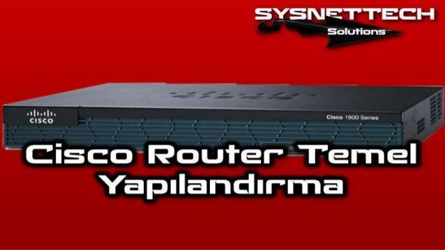 Cisco Router Ayarlari | Cisco Komutlari ✅ Cisco, Cisco CCNA