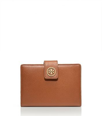 Tory Burch Robinson Leather Passport Holder 135 Classy Fashion