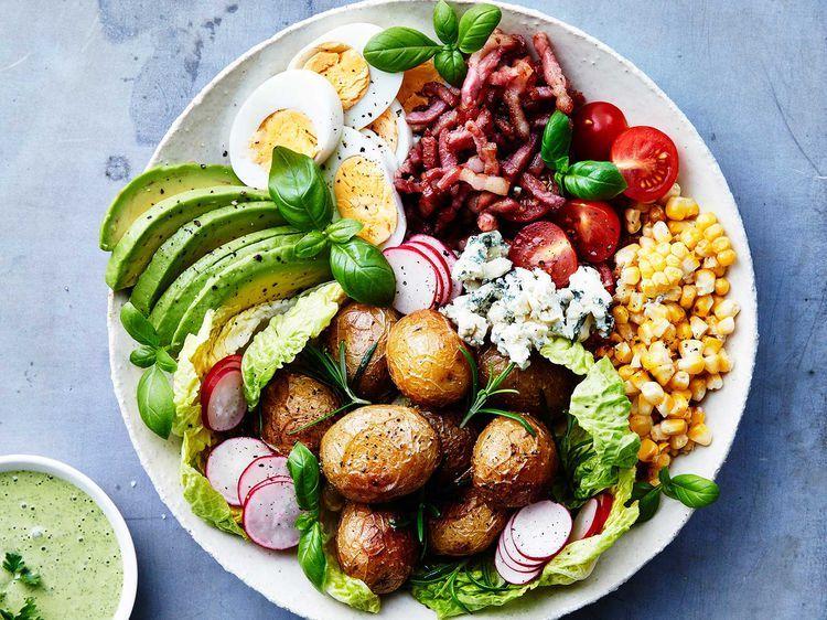 Idée Repas 12 Personnes Salade complète   Idée recette salade, Recette de salade composée