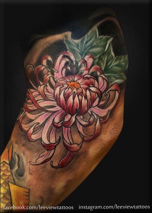japanese flower tattoo - Google Search | tatoo | Pinterest ...