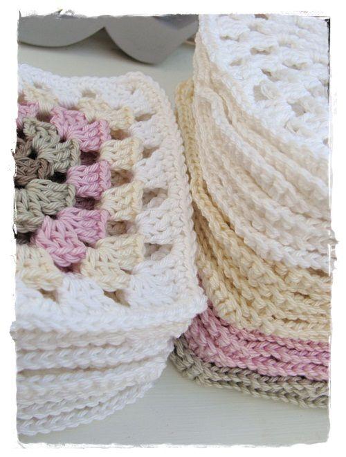 Grannys ♥ | my crochet | Pinterest | Colchas tejidas, Trapillo y ...