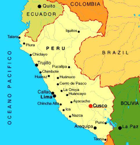 Mapa Del Perú Map Of Peru South America Peru And Explore - Map of peru
