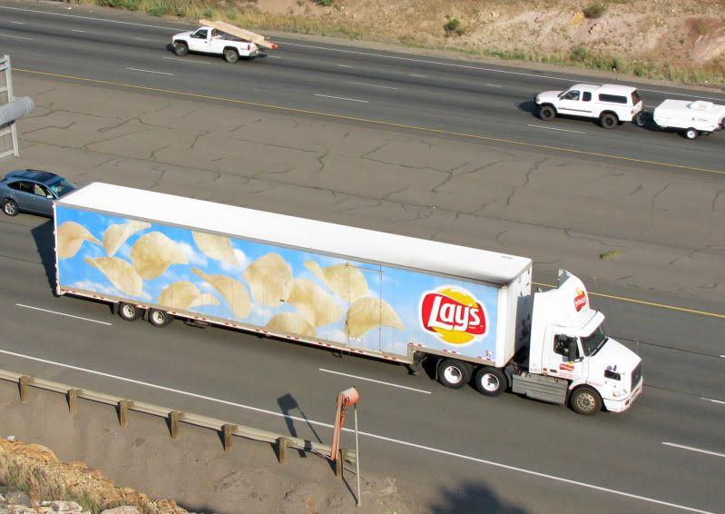 frito lay trucks trailers semi trucking rigs hankstruckforum driving diesel