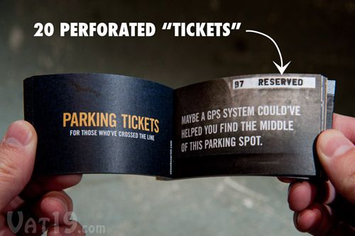 parking ticket booklet citations for parking impaired drivers 7