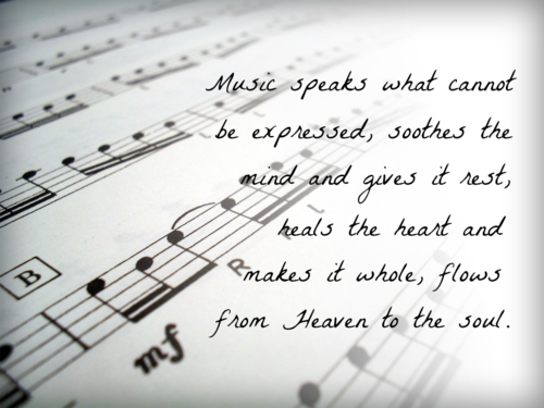 Music Speaks Quotes | music | Music Quotes, Music pictures ...